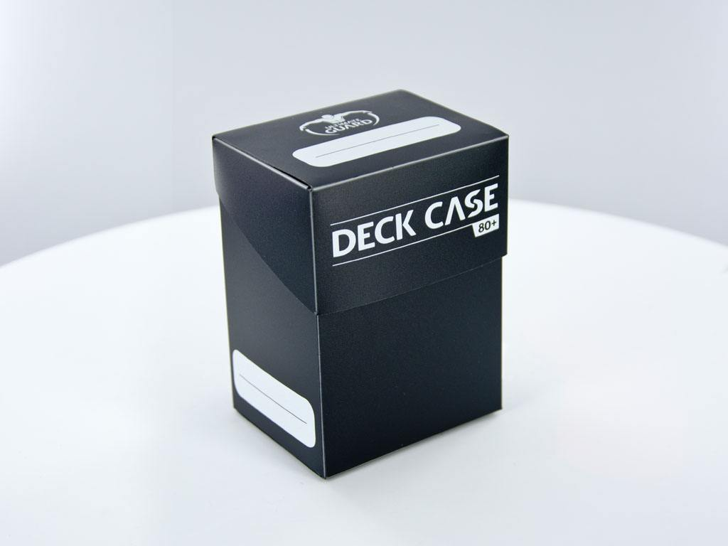 Ultimate Guard Deck Case 80+ Standard Size Black