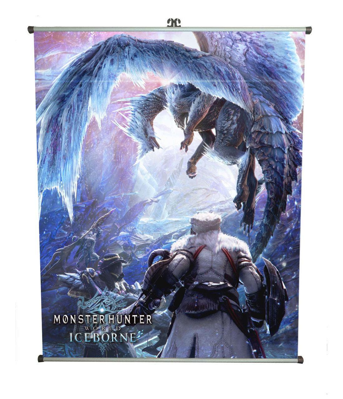 Monster Hunter: World Wallscroll Iceborne 60 x 71 cm