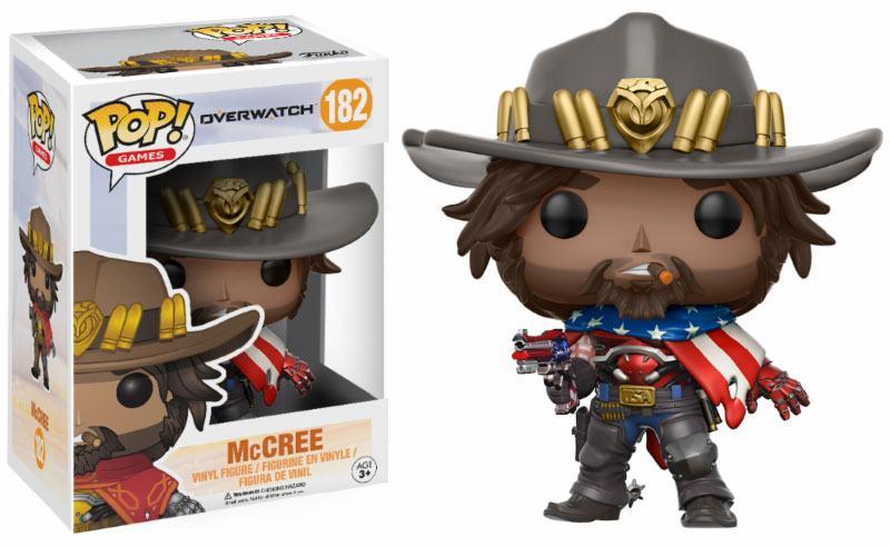 Overwatch POP! Games Vinyl Figure McCree 9 cm