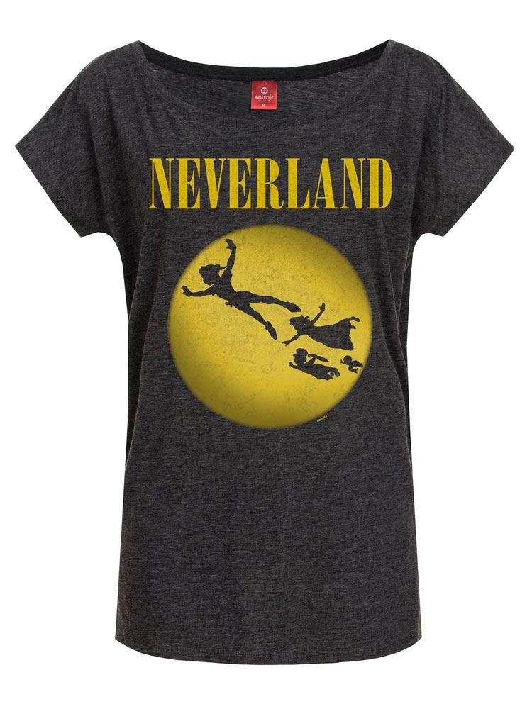 Peter Pan Ladies T-Shirt Neverland Size XL