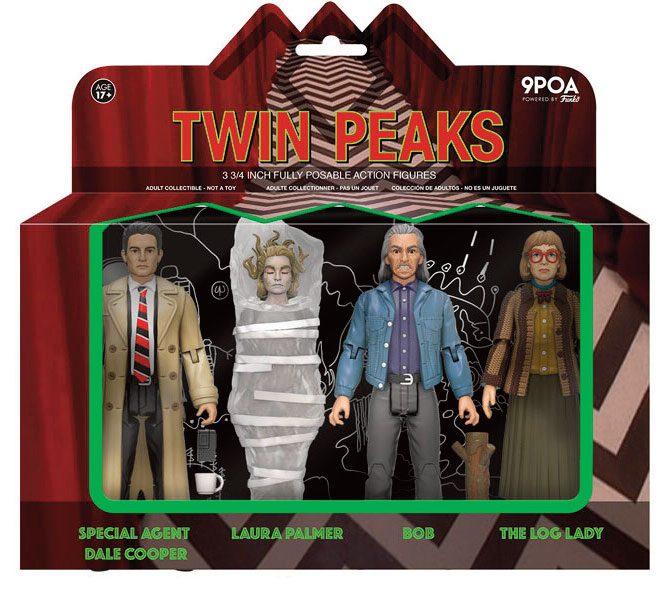 Twin Peaks Action Figures 4-Pack 10 cm