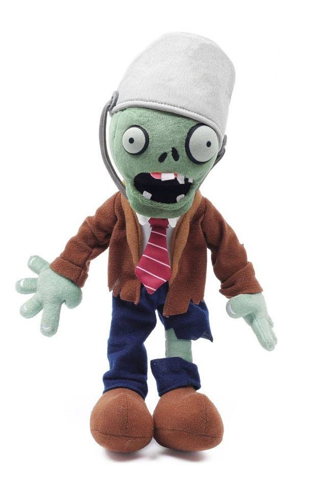 Plants vs. Zombies Plush Figure Buckethead Zombie 34 cm