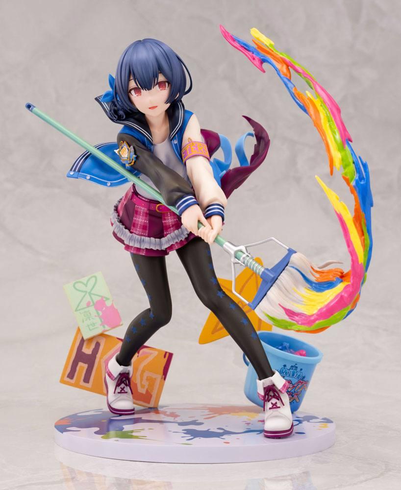 The Idolmaster Shiny Colors PVC Statue 1/8 Rinze Morino Brave Hero Ver. 19 cm