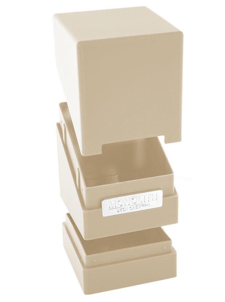 Ultimate Guard Monolith Deck Case 100+ Standard Size Sand