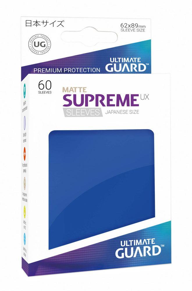 Ultimate Guard Supreme UX Sleeves Japanese Size Matte Blue (60)