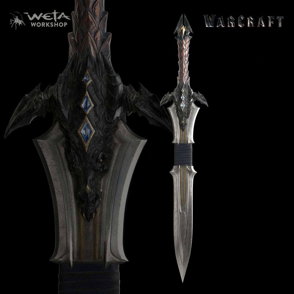 Warcraft Replica 1/1 Lothar's Sword 117 cm