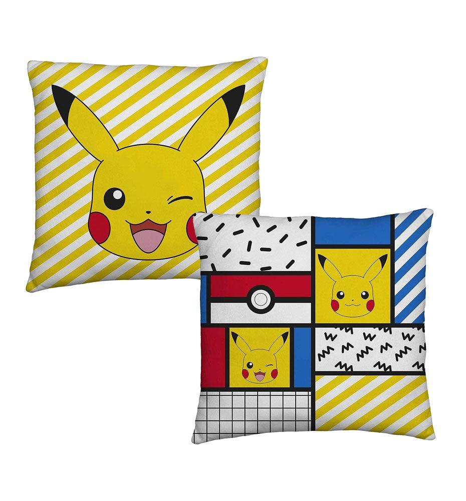 Pokemon Cushion Pikachu Memphis 40 x 40 cm