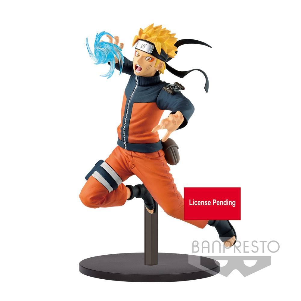 Naruto Shippuden Vibration Stars Statue Uzumaki Naruto 17 cm