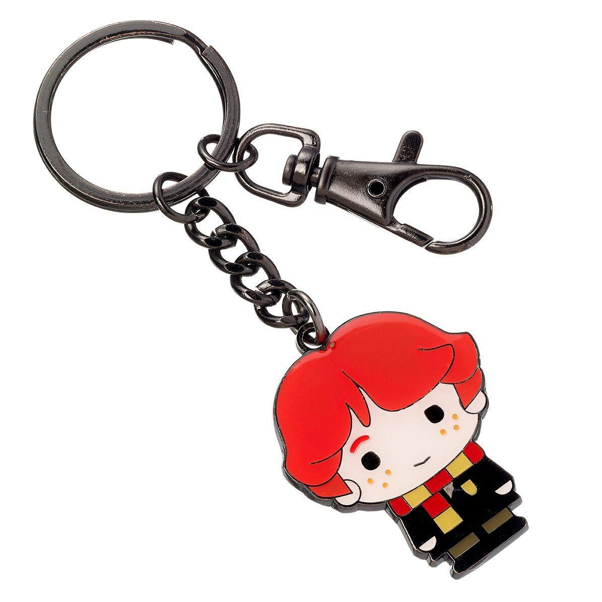 Harry Potter Cutie Collection Keychain Ron Weasley (silver plated)
