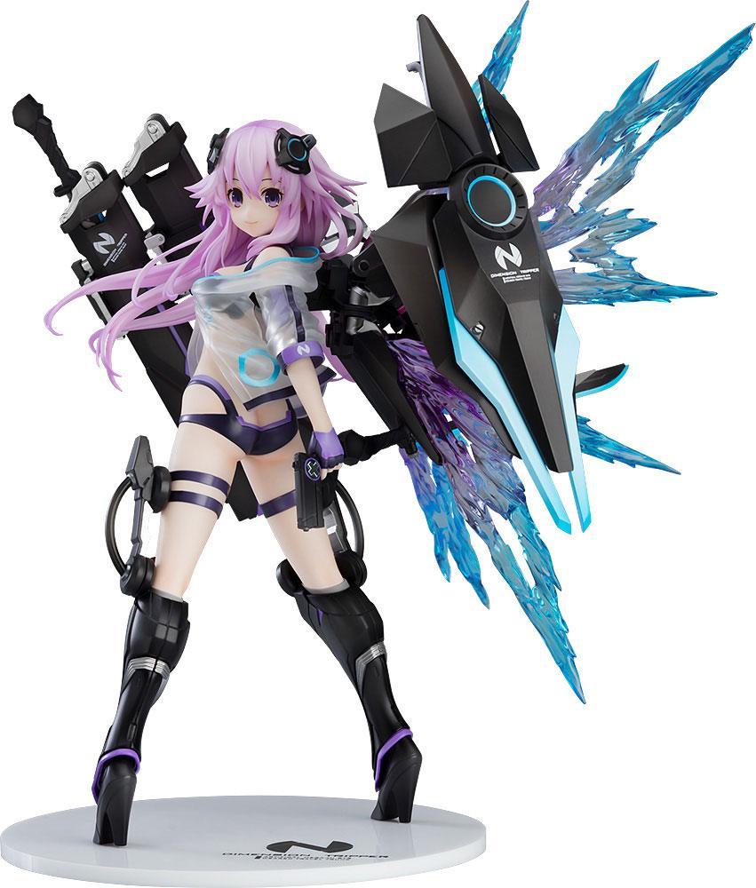 Hyperdimension Neptunia Statue 1/7 Dimension Traveler Neptune Generator Unit Ver. 26 cm
