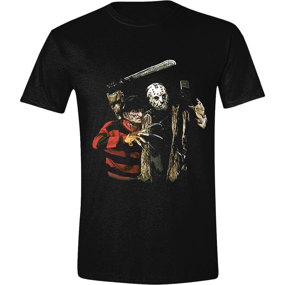 Freddy vs. Jason T-Shirt Selfie Colour Size S