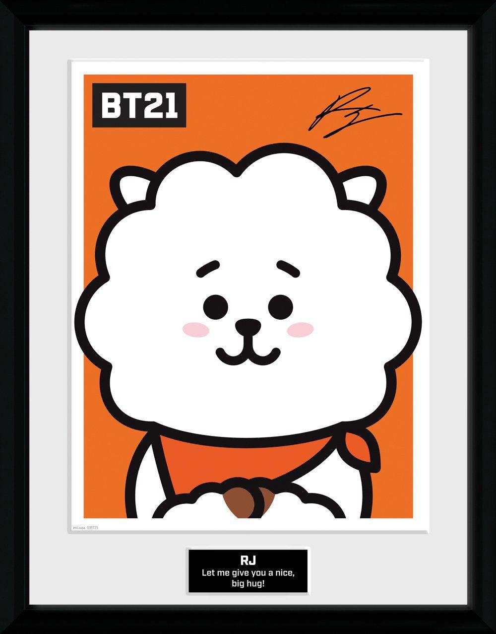 BT21 Framed Poster RJ