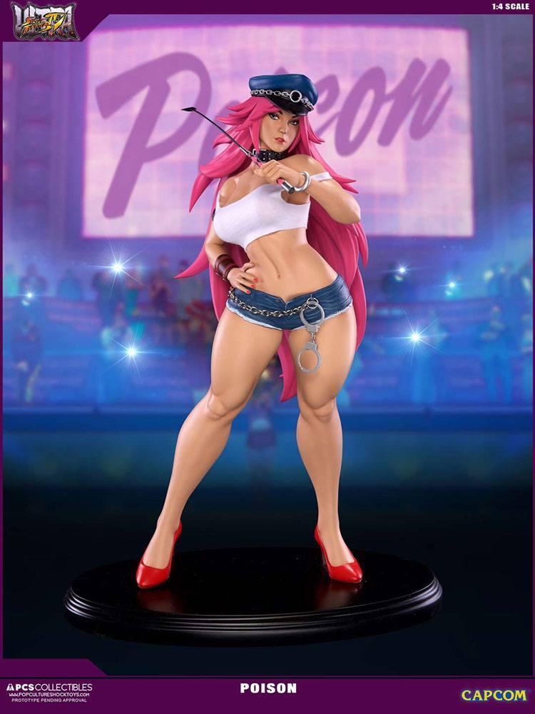 Street Fighter IV Statue 1/4 Poison 43 cm