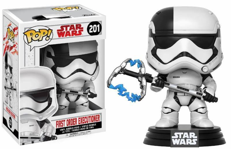 Star Wars Episode VIII POP! Vinyl Bobble-Head First Order Executioner 9 cm