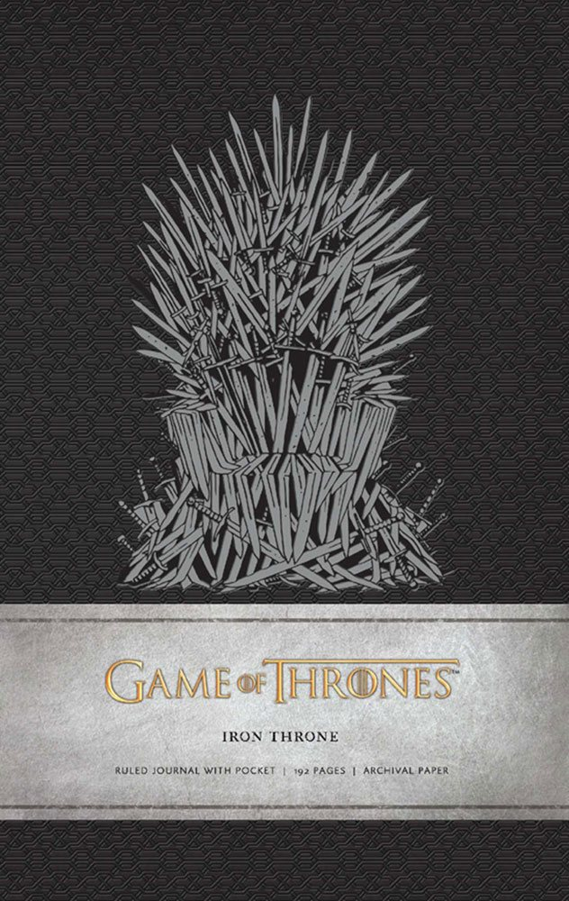 Game of Thrones Hardcover Ruled Journal Iron Throne