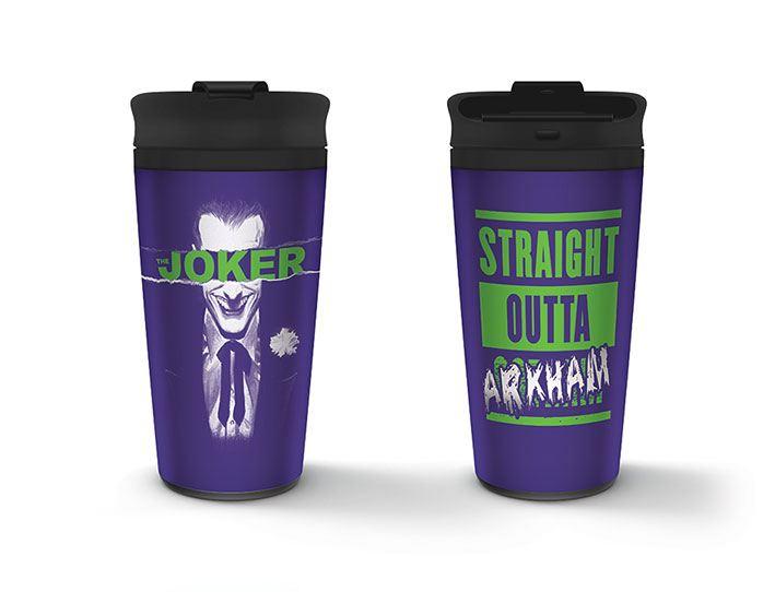 DC Comics Travel Mug Joker Straight Outta Gotham