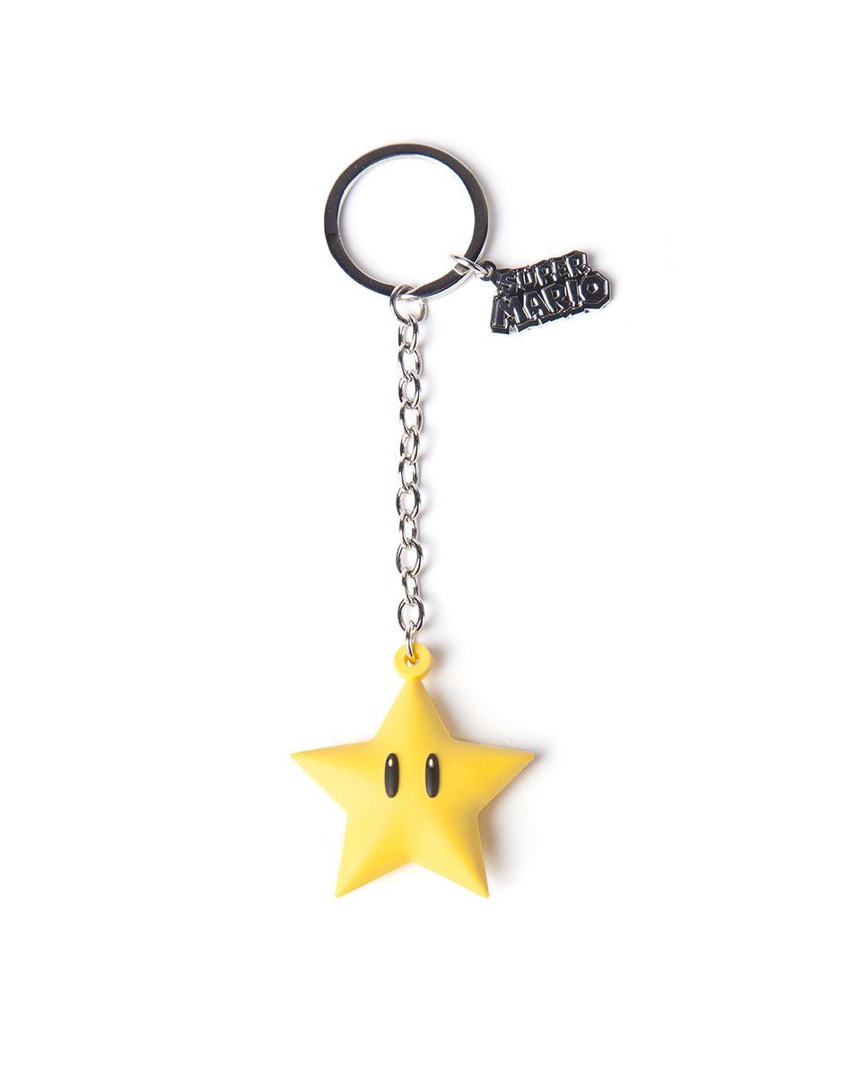 Nintendo Rubber Keychain Superstar 7 cm