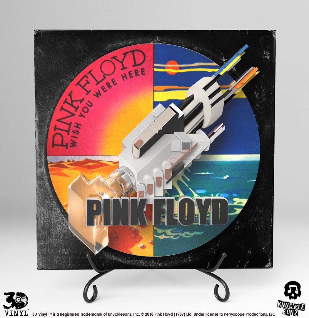 Pink Floyd 3D Vinyl Statue Wish You Were Here 30 cm