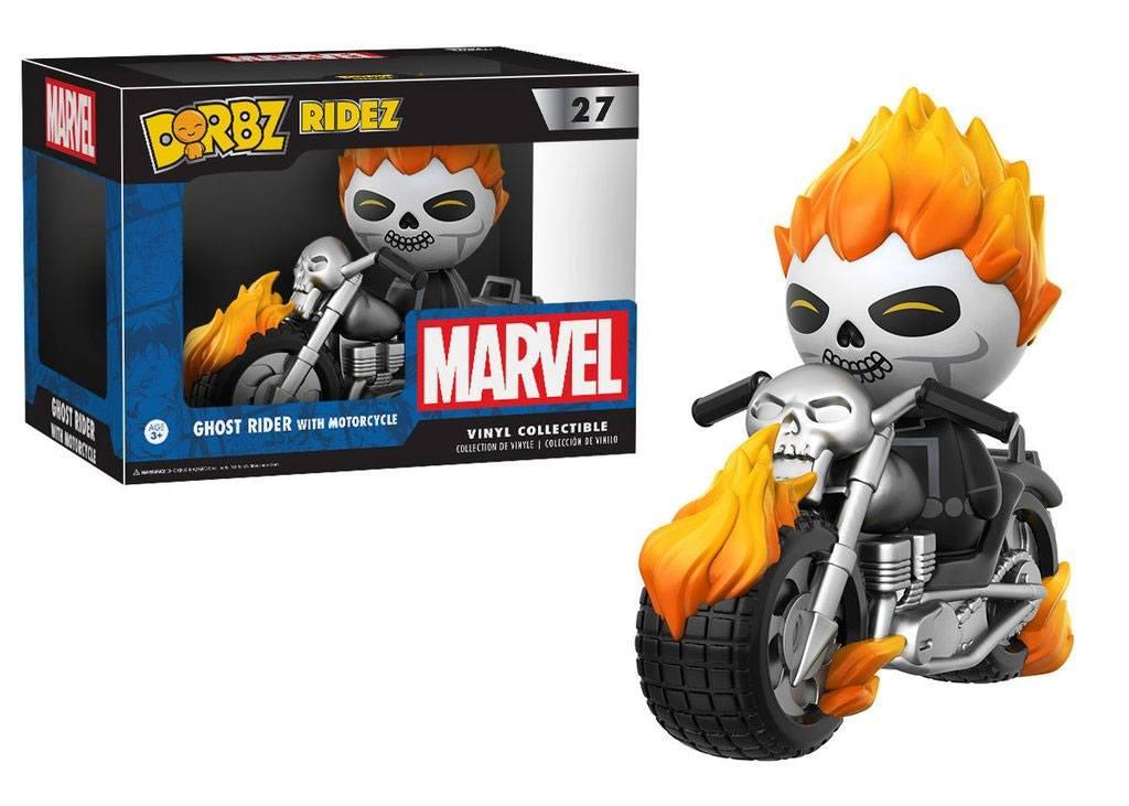 Marvel Comics POP! Ridez Vinyl Vehicle with Dorbz Figure Ghost Rider & Motorcycle 24 cm