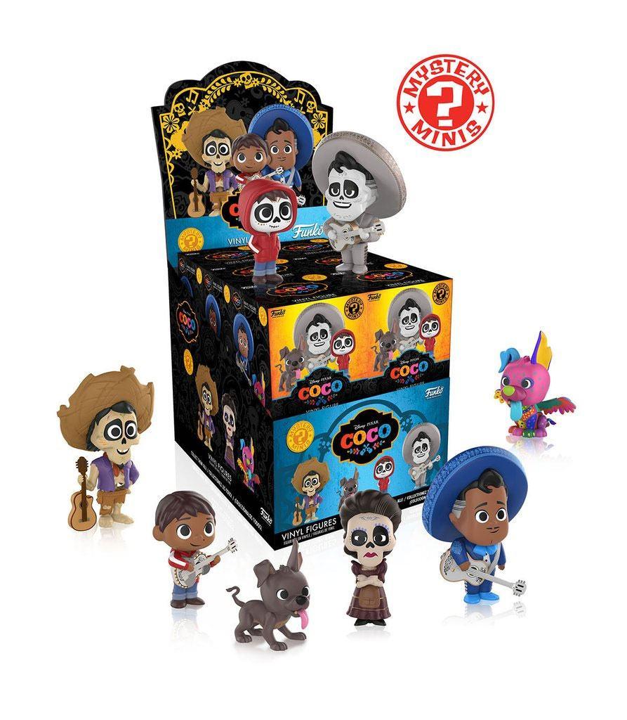 Coco Mystery Minis Vinyl Mini Figures 6 cm Display (12)