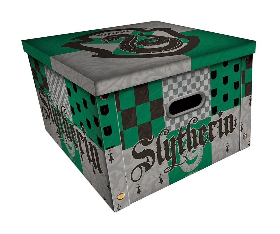 Harry Potter Storage Box Slytherin Case (5)