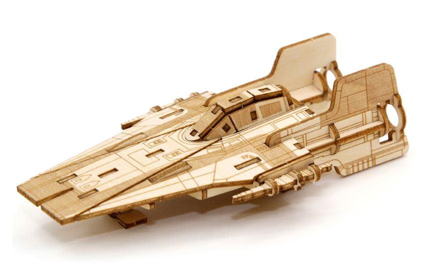 Star Wars IncrediBuilds 3D Wood Model Kit A-Wing