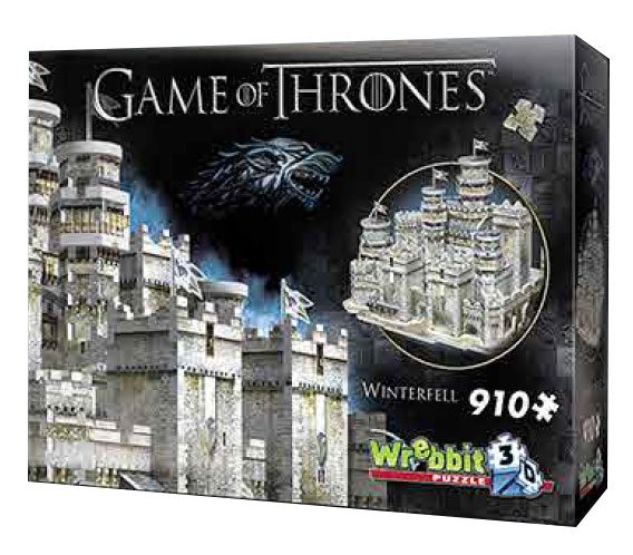 Game of Thrones 3D Puzzle Winterfell --- DAMAGED PACKAGING