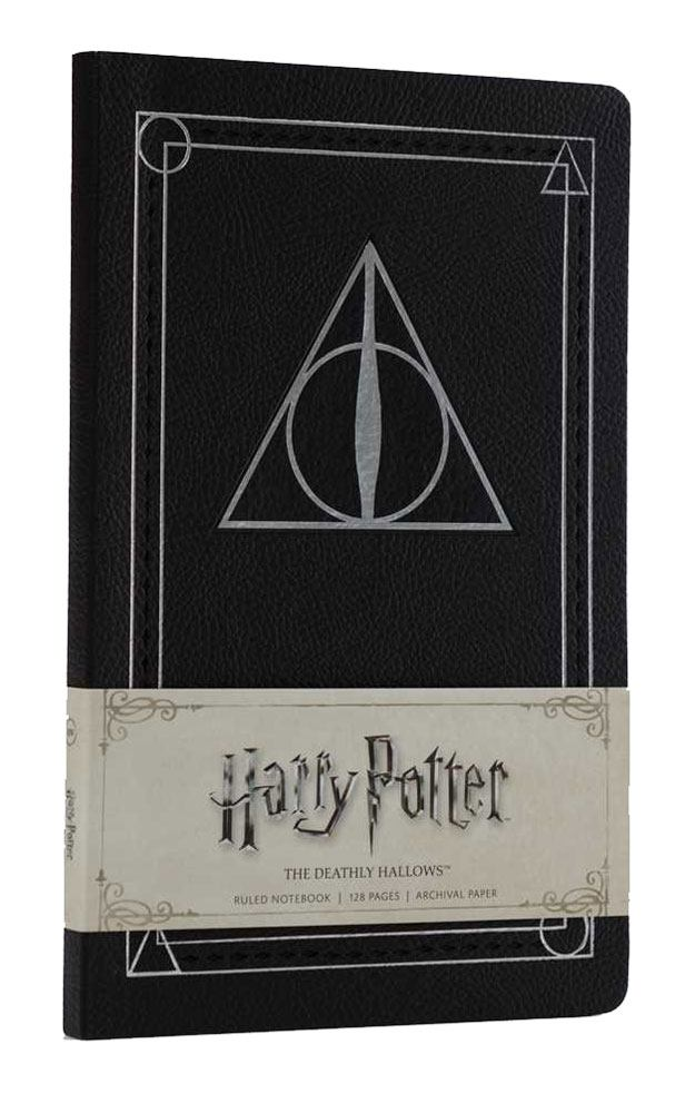 Harry Potter Ruled Notebook The Deathly Hallows