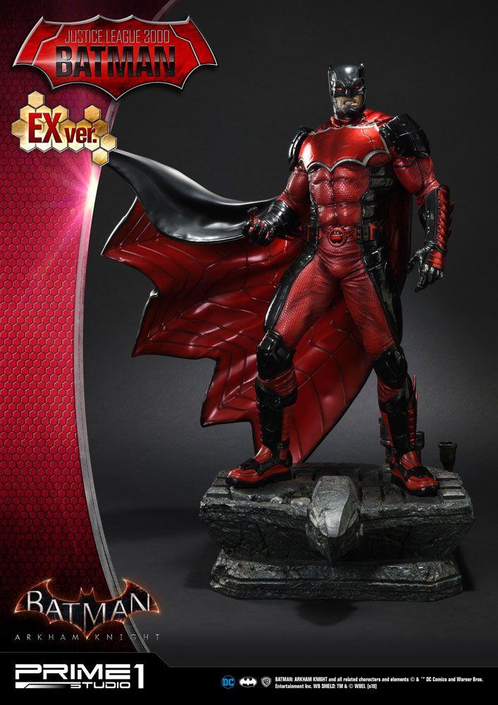 Batman Arkham Knight Statues 1/5 Justice League 3000 Batman & Exclusive 49 cm Assortment (3)