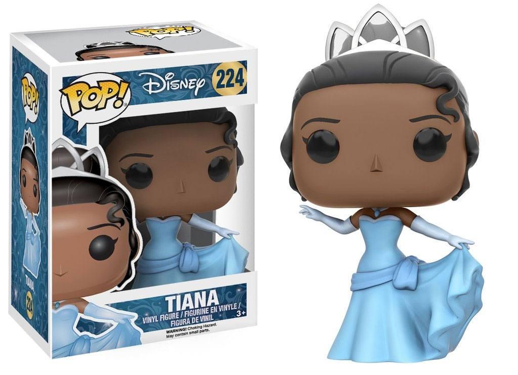 The Princess and the Frog POP! Disney Vinyl Figure Princess Tiana (Gown) 10 cm