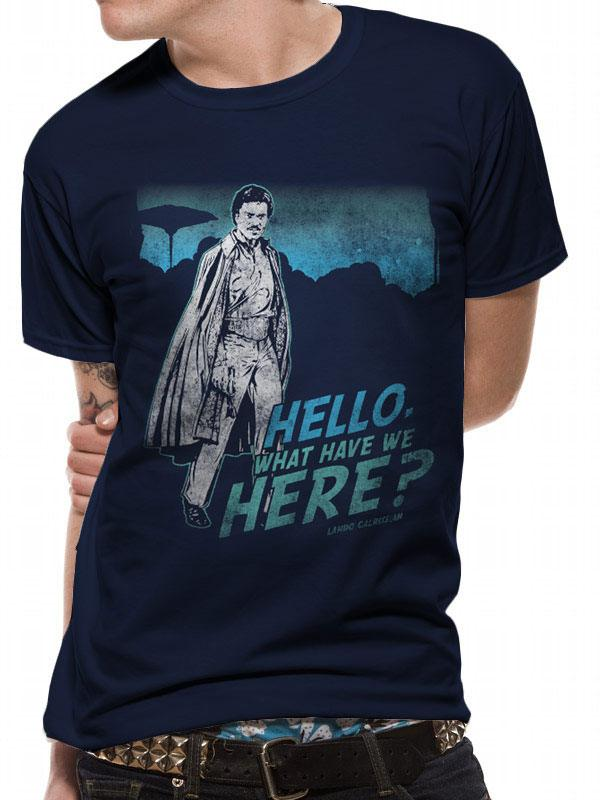 Star Wars T-Shirt What Have We Here Lando Size XL