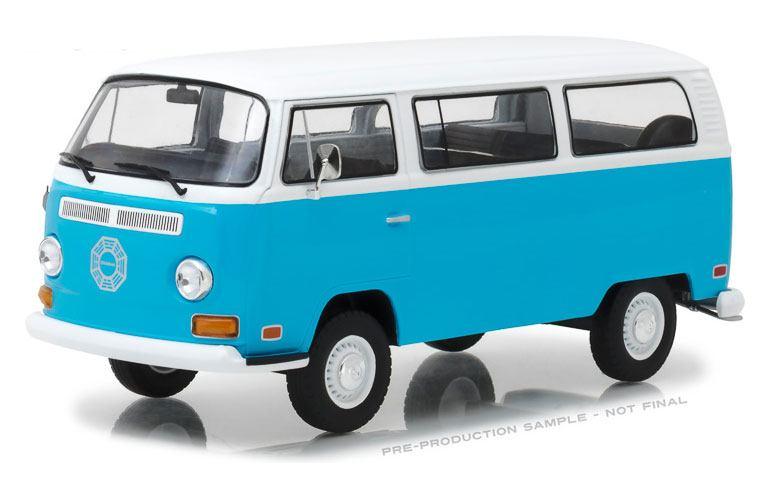 Lost Diecast Model 1/24 1971 Volkswagen Type 2 Darma Van