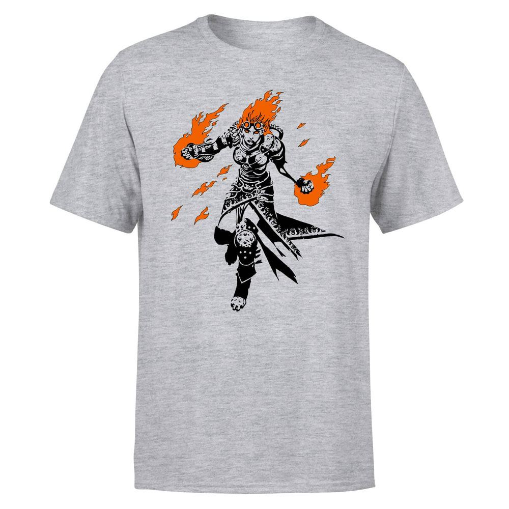 Magic the Gathering T-Shirt Chandra Character Art Size XXL