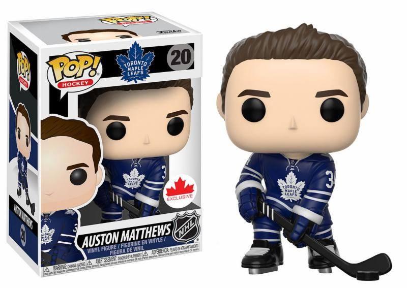 NHL POP! Hockey Vinyl Figure Auston Mathews 9 cm