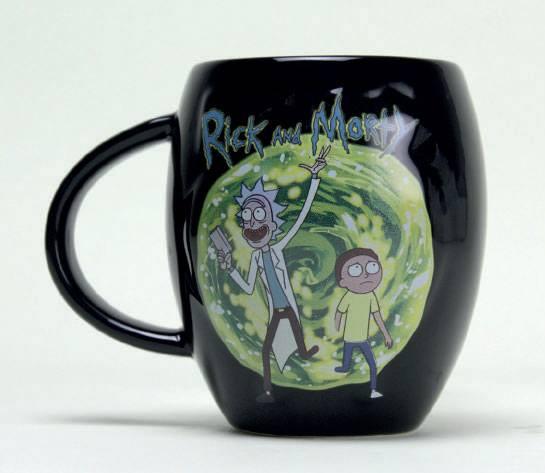 Rick and Morty Oval Mug Portal