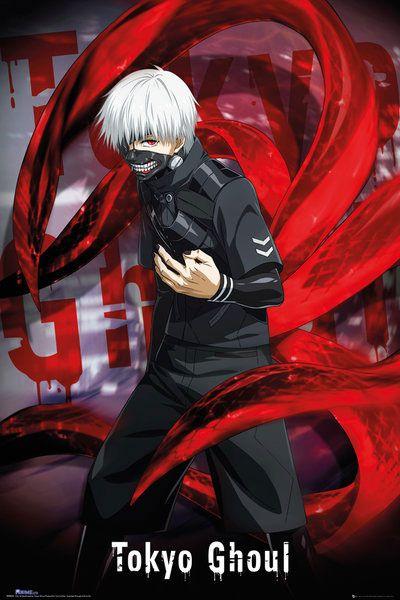 Tokyo Ghoul Poster Pack Ken Kaneki 61 x 91 cm (5)