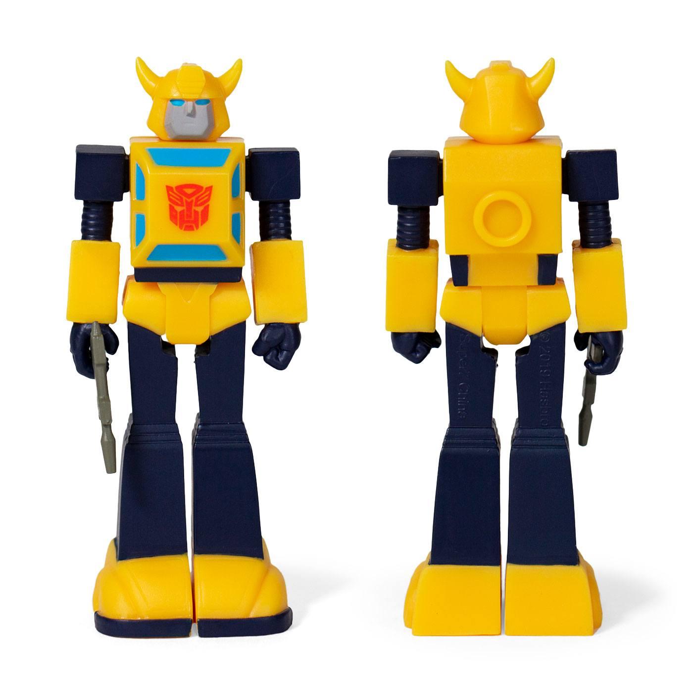 Transformers ReAction Action Figure Wave 1 Bumblebee 10 cm