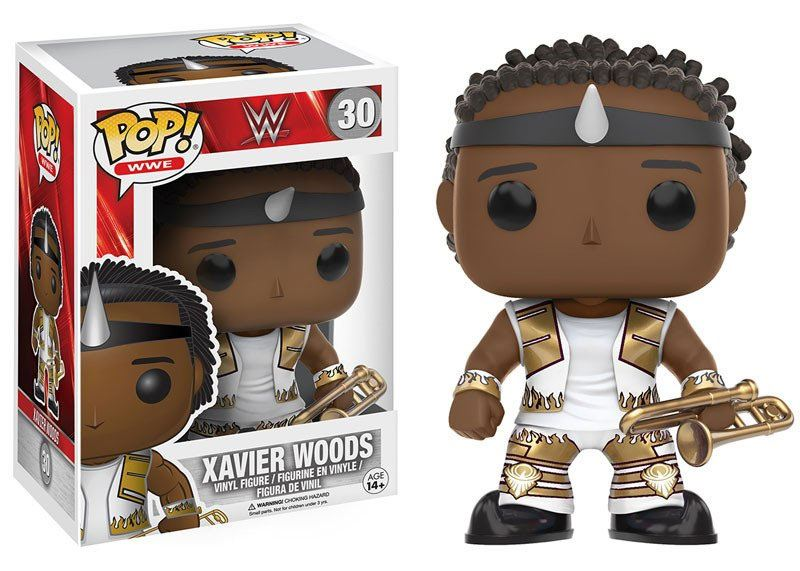 WWE Wrestling POP! WWE Vinyl Figure Xavier Woods 9 cm