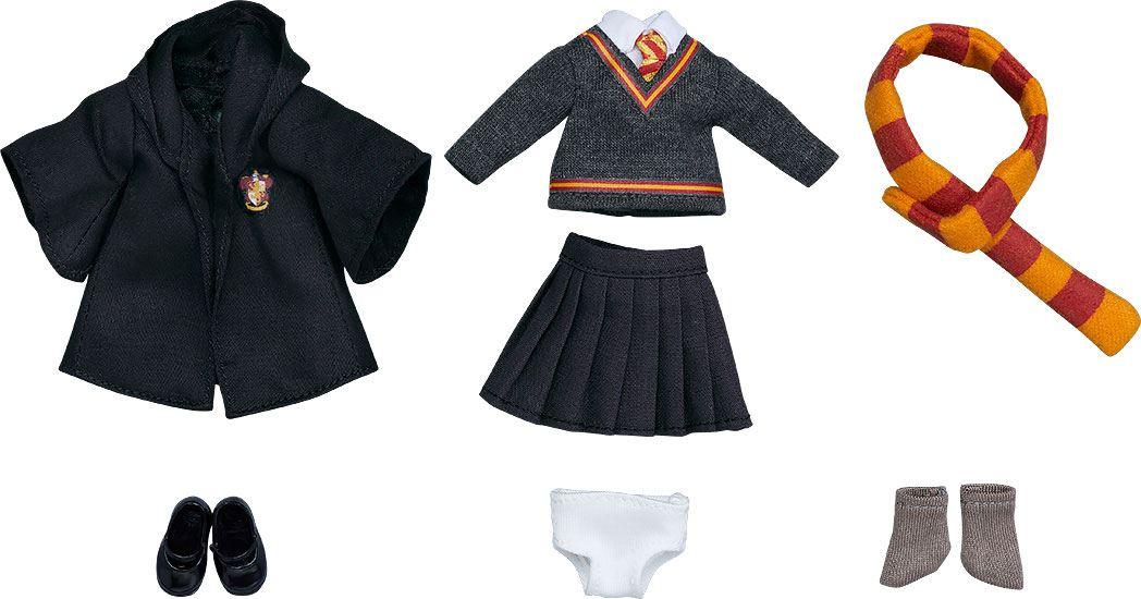 Harry Potter Parts for Nendoroid Doll Figures Outfit Set (Gryffindor Uniform - Girl)