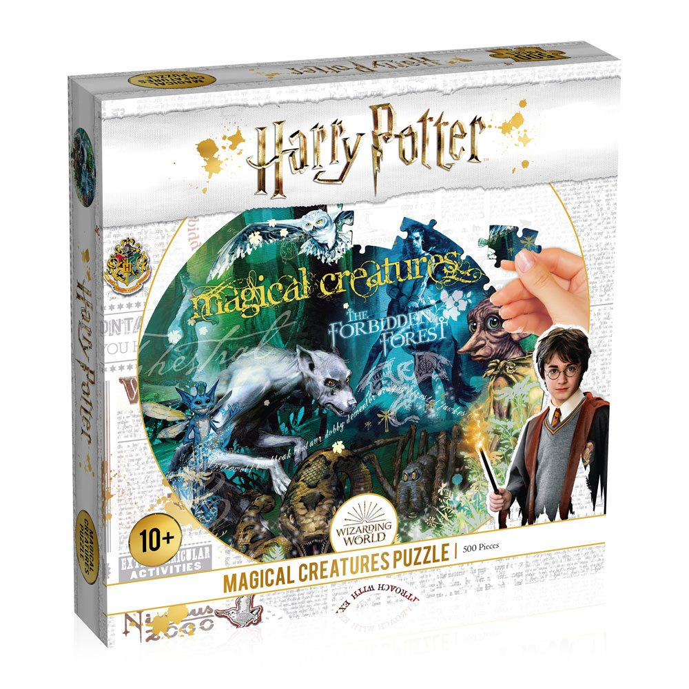 Harry Potter Jigsaw Puzzle Magical Creature