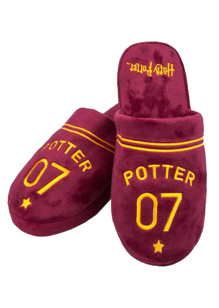 Harry Potter Slippers Quidditch Size L