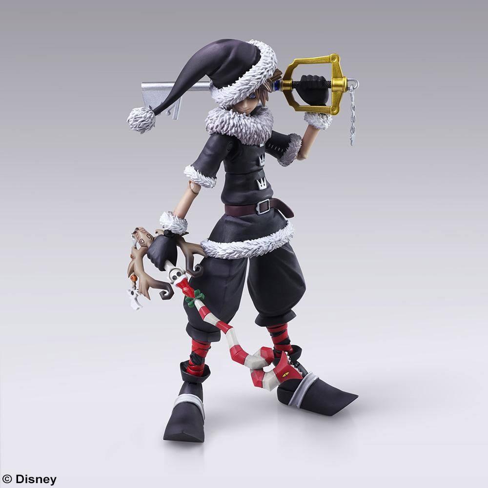 Kingdom Hearts II Bring Arts Action Figure Sora Christmas Town Ver. 15 cm