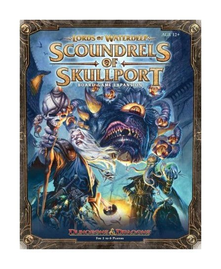 Dungeons & Dragons Board Game Expansion Lords of Waterdeep: Scoundrels of Skullport english