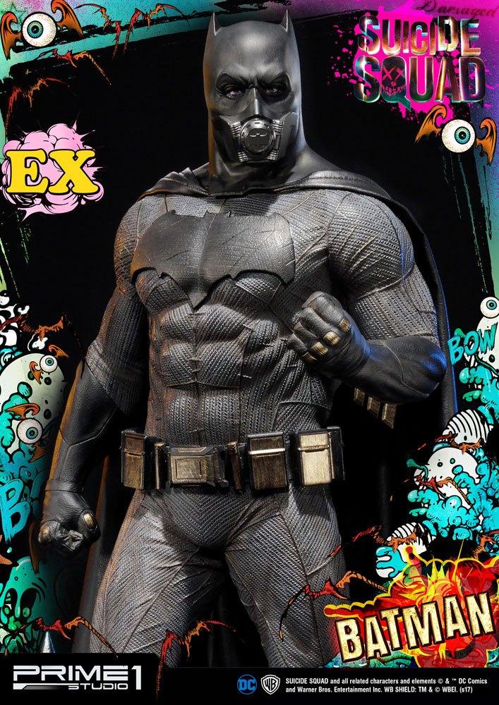 Suicide Squad 1/3 Statues Batman & Batman Exclusive 78 cm Assortment (3)