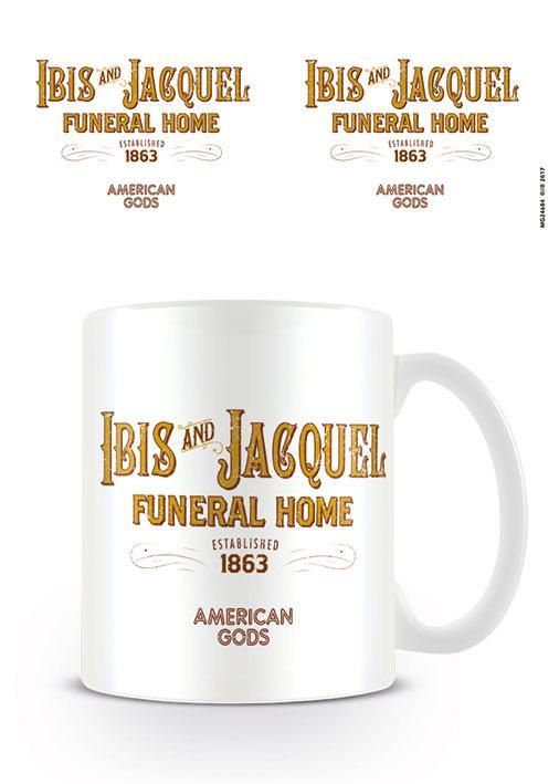 American Gods Mug Ibis and Jacquel