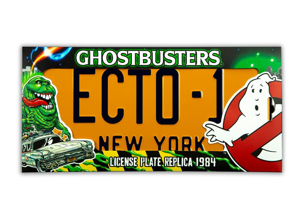 Ghostbusters Replica 1/1 ECTO-1 License Plate