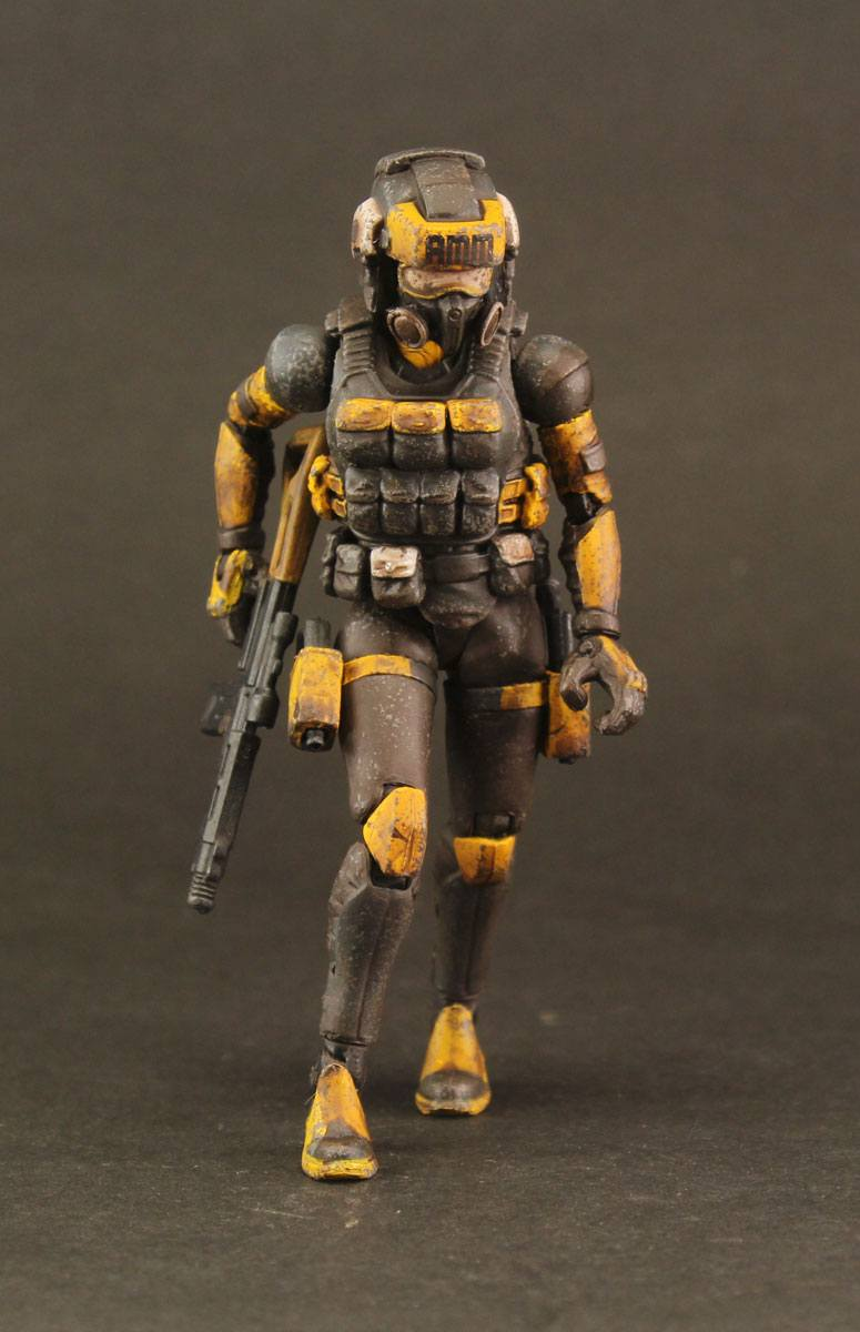 Acid Rain Action Figure 1/18 AMM Prospector 10 cm