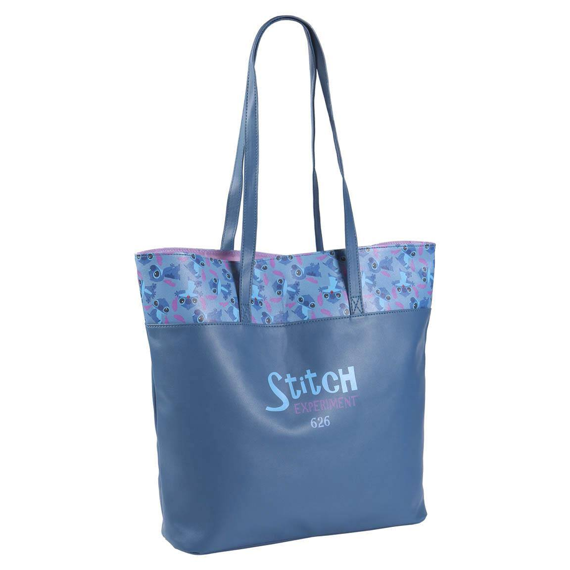 Lilo & Stitch Faux Leather Shopping Bag Experiment 626