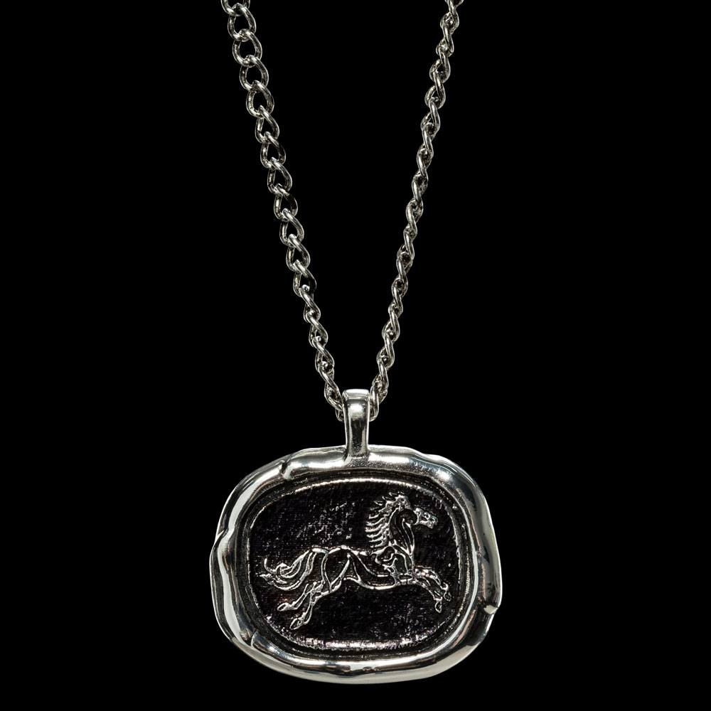 Lord of the Rings Pendant and Chain Rohan Wax Seal