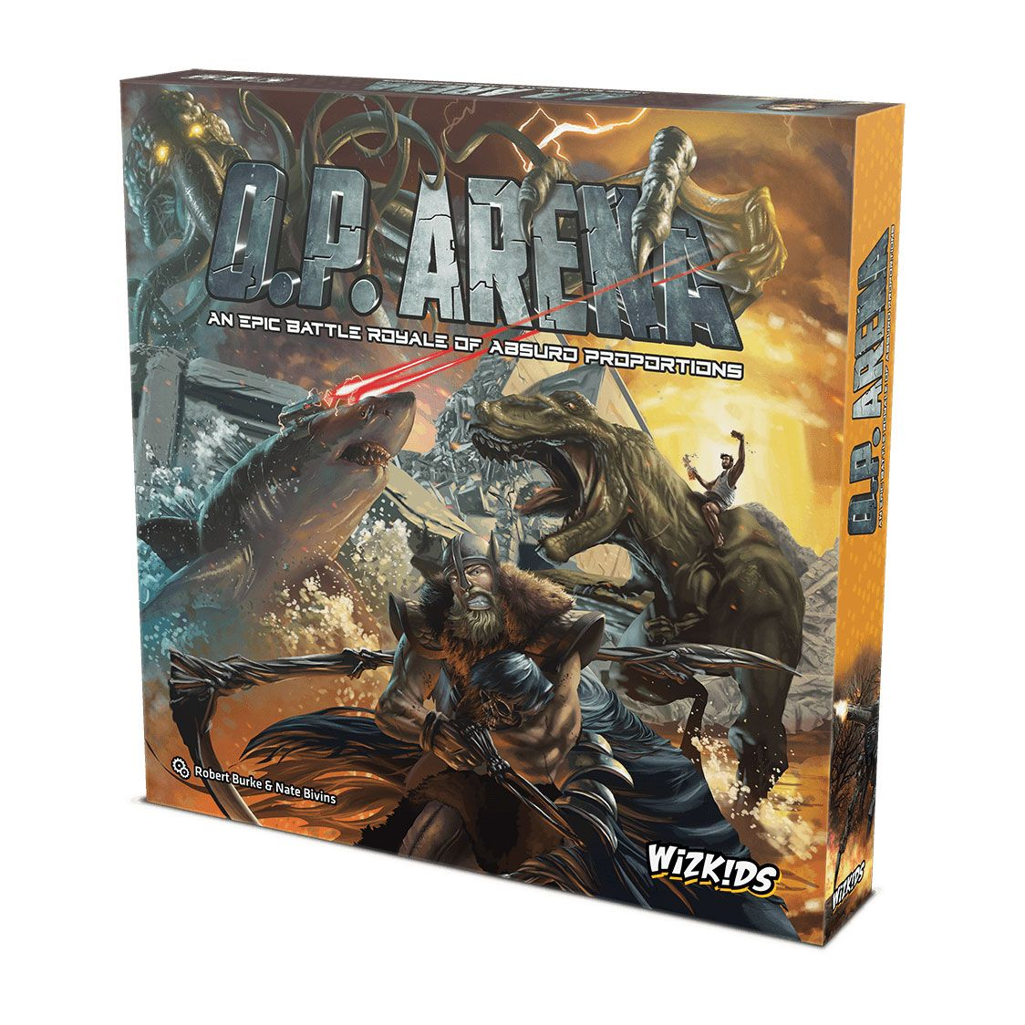 O.P. Arena: An Epic Battle Royale of Absurd Proportions Board Game *English Version*